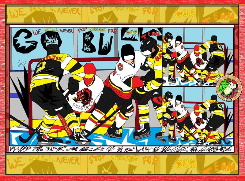 Belleville_Bulls_Poster_with_autographs